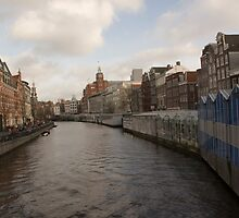 The Singel in Amsterdam by Katherine Maguire
