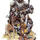 Arya & the Hound by MatiasBergara