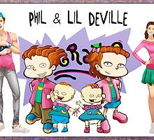 Isaiah Stephens - Phil and Lil Deville by NDewert