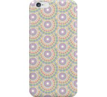Rainbow Circles Pattern iPhone Case/Skin