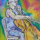 cello busker by christine purtle