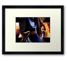 psychedelic music Framed Print