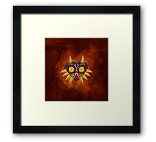 Majora's Mask Paint Framed Print