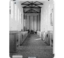 Abbey of Gethsemani - B&W iPad Case/Skin