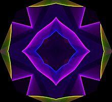 Mandala Purple and Gold by HolidayMurcia