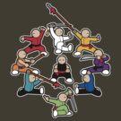 The Wushu Family by Joumana Medlej