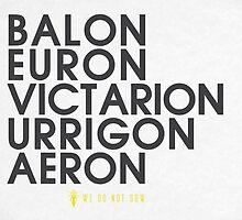 House Greyjoy 2 Typography series II by P3RF3KT