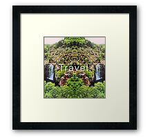 Travel. Florence Falls Framed Print
