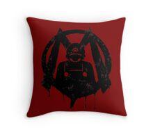 M For Mario Throw Pillow