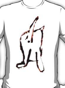 Scat, Cat! 4 large T-Shirt