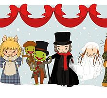 Muppets Tiny Christmas Carol by liarakcrane