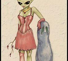 corset study by margodalia