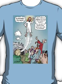 Jesus KINDA died for our sins! T-Shirt