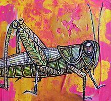 Grasshopper by Lynnette Shelley