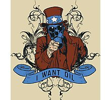 Oil For Uncle Sam Photographic Print