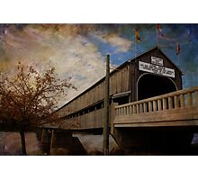 The Longest Covered Bridge In the World Photographic Print