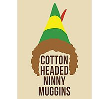 Cotton Headed Ninny Muggins Photographic Print