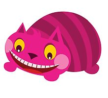 Cheshire Cat Smiling by CandyShop