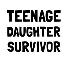 Teenage Daughter Survivor by AmazingMart