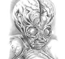 The Metaluna Mutant by CCDArtandSupply