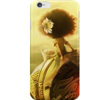 Stay still with me iPhone Case/Skin