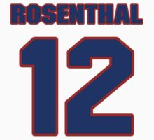 National baseball player Larry Rosenthal jersey 12 by imsport