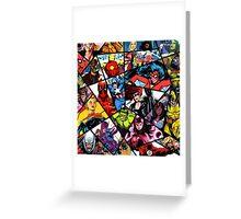 Marvel Greeting Card