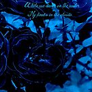 Hues of Blues Haiku by Charldia