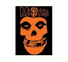 SF Misfits (NOW WITH BETTER COLOR!) Art Print