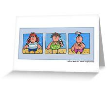 Life's a beach II Greeting Card