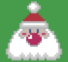 Pixel Santa by clearspace80