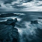 Sea at Dusk by Will Barton
