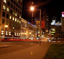 union square @ night by willd
