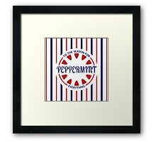 Tis the Season for Peppermint Everything Framed Print