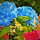 Garden flower bunch by ♥⊱ B. Randi Bailey