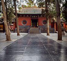 Shaolin Temple in DengFeng China art photo print by ArtNudePhotos