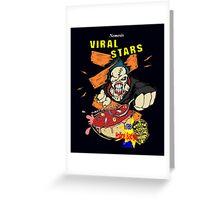 Nemesis Viral Stars Cereal Greeting Card