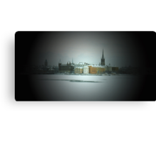Stockholm In Winter Canvas Print