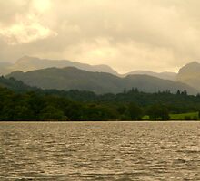 Stormy Windermere by dompech