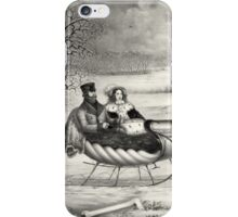 Sleigh Ride in a Winter Wonderland iPhone Case/Skin