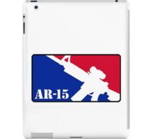 AR15 Red White and Blue iPad Case/Skin