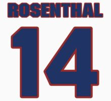 National baseball player Larry Rosenthal jersey 14 by imsport