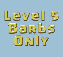 Level 5 Barbs Only by ADHDDESIGN