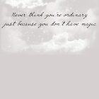 No Magic  by alyg1d