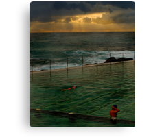 Bronte Baths Canvas Print
