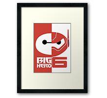 baymax big v2 Framed Print