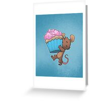 Cupcake Mouse Greeting Card