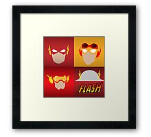 the flashes gen Framed Print