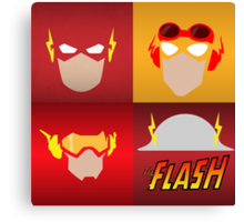 the flashes gen Canvas Print