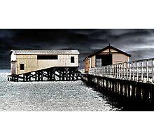 Silver Seas Photographic Print